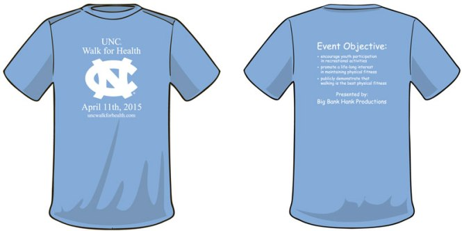UNC-walk-t-shirt